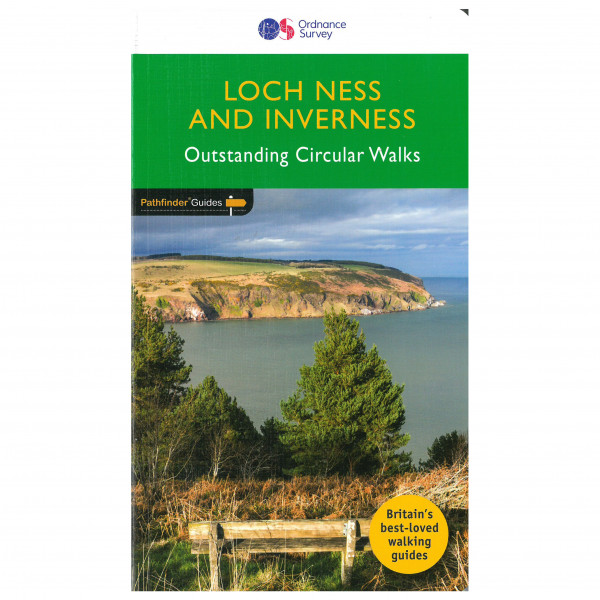 Ordnance Survey - Loch Ness & Iverness Pathfinder - Vandringsguider