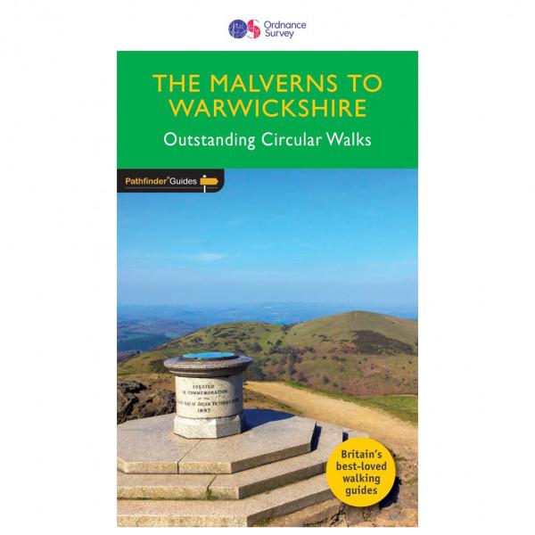 Ordnance Survey - Malverns To Warwickshire Pathfinder - Wanderführer