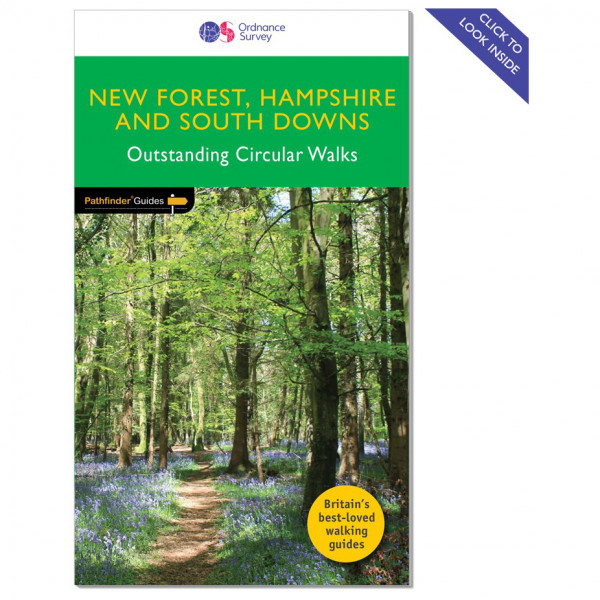 Ordnance Survey - New Forest/ Hampshire / South Downs Pathfinder - Vaellusoppaat
