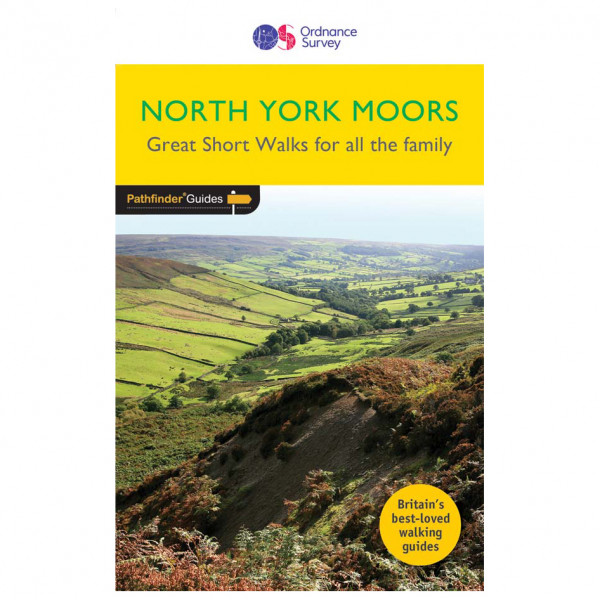 Ordnance Survey - North York Moors - Vandringsguider