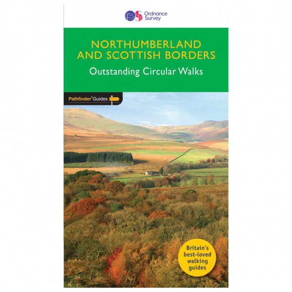 Ordnance Survey - Northumberland & The Scottish Borders Pathfinder - Walking guide book