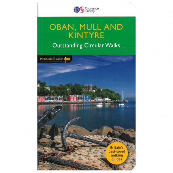 Ordnance Survey - Oban, Mull & Kintyre Pathfinder - Vaellusoppaat