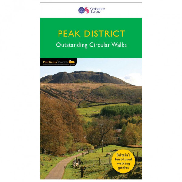 Ordnance Survey - Peak District Pathfinder - Walking guide book