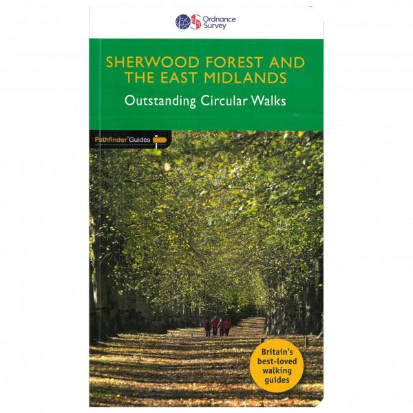 Ordnance Survey - Sherwood Forest & East Midlands Pathfinder - Wandelgids