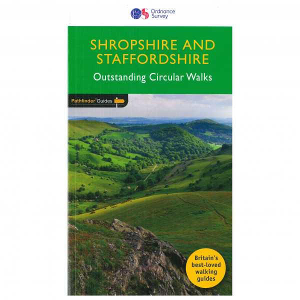Ordnance Survey - Shropshire & Staffordshire Pathfinder - Vaellusoppaat