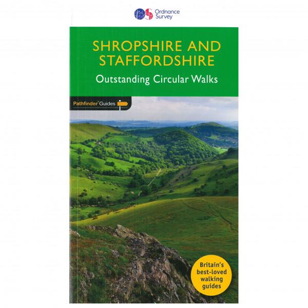 Ordnance Survey - Shropshire & Staffordshire Pathfinder - Walking guide book