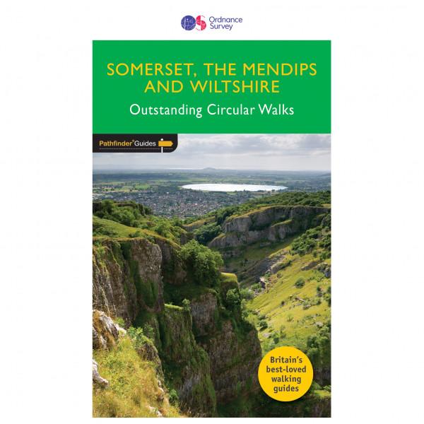 Ordnance Survey - Somerset/ The Mendips / Wiltshire Pathfinder - Vandringsguider