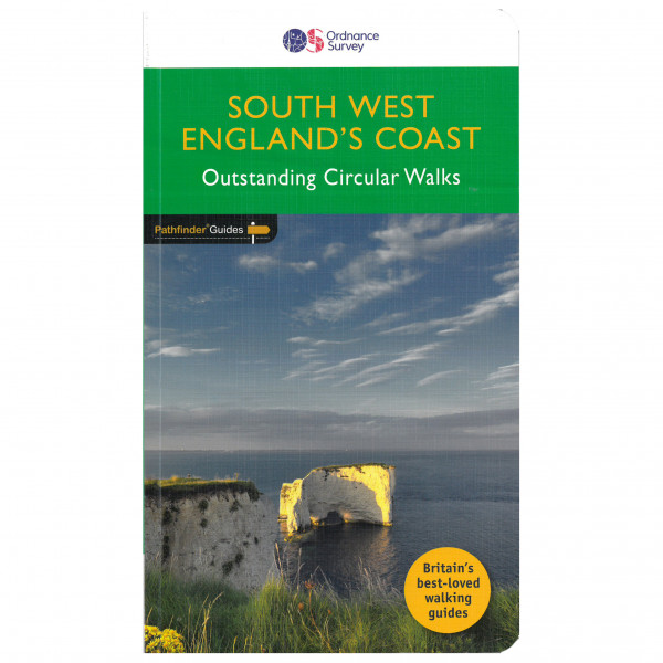 Ordnance Survey - South West England Coastal Walks Pathfinder - Walking guide book