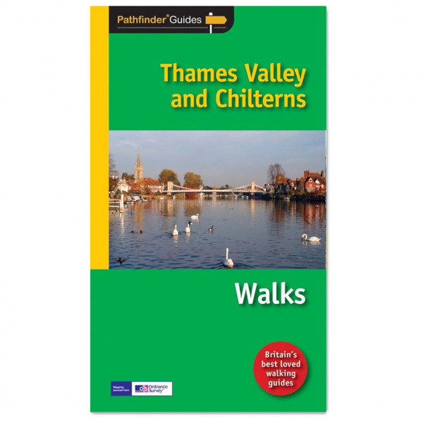 Ordnance Survey - Thames Valley / Chilterns Pathfinder - Walking guide book