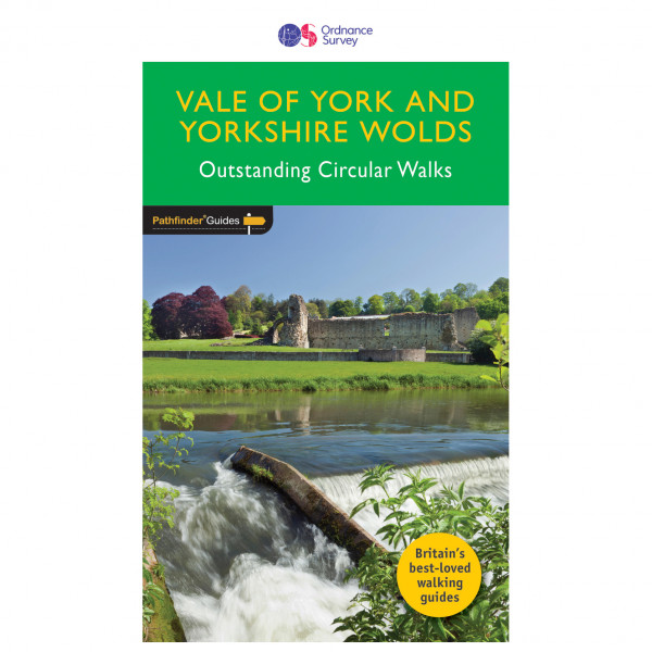 Ordnance Survey - Vale Of York Pathfinder - Walking guide book