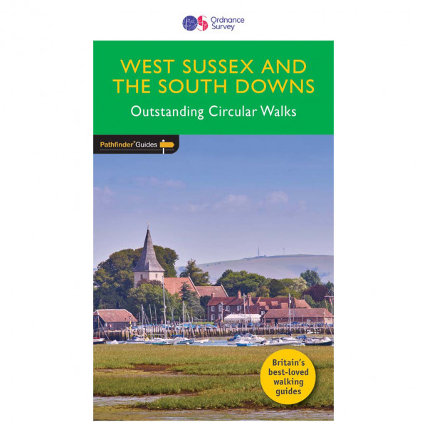 Ordnance Survey - West Sussex / South Downs Pathfinder - Vandringsguider