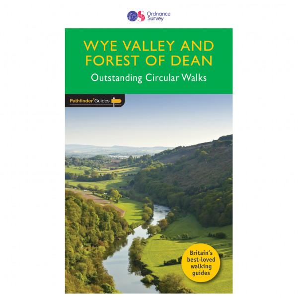 Ordnance Survey - Wye Valley & Forrest Of Dean Pathfinder - Walking guide book