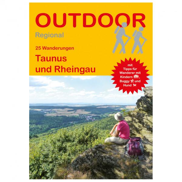 Conrad Stein Verlag - 25 Wanderungen Taunus und Rheingau - Vandringsguider