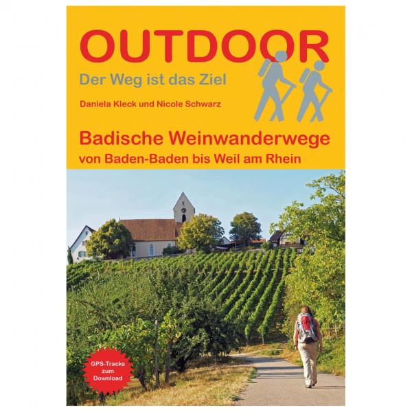 Conrad Stein Verlag - Badische Weinwanderwege - Vandreguides