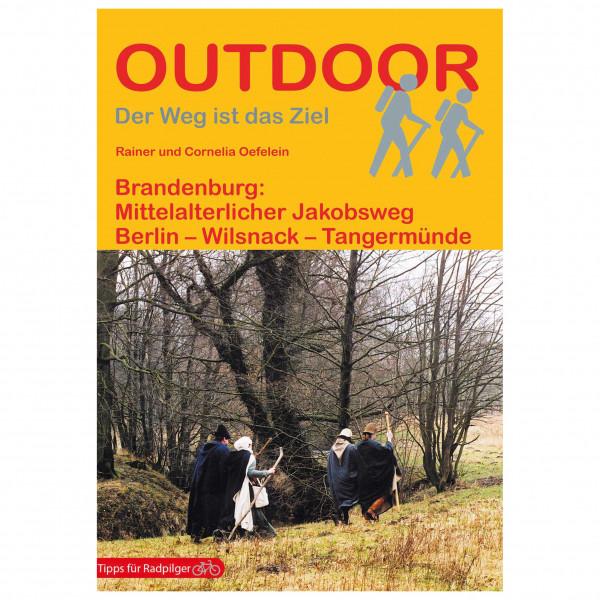 Conrad Stein Verlag - Brandenburg: Mittelalterlicher Jakobsweg - Wanderführer