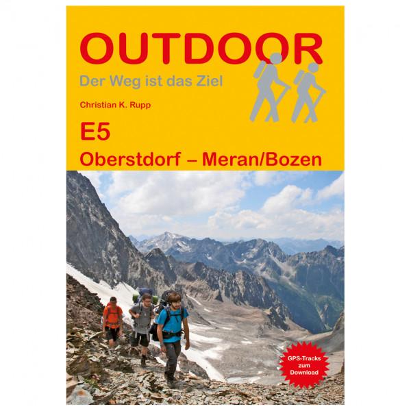 Conrad Stein Verlag - E5 Oberstdorf - Meran/Bozen - Walking guide book