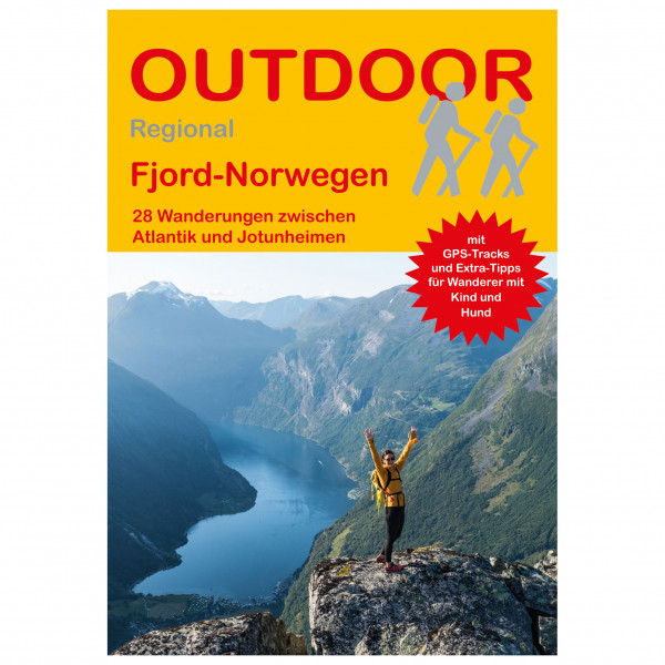 Conrad Stein Verlag - Fjord-Norwegen - Walking guide book