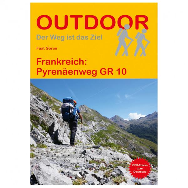 Conrad Stein Verlag - Frankreich: Pyrenäenweg GR 10 - Walking guide book