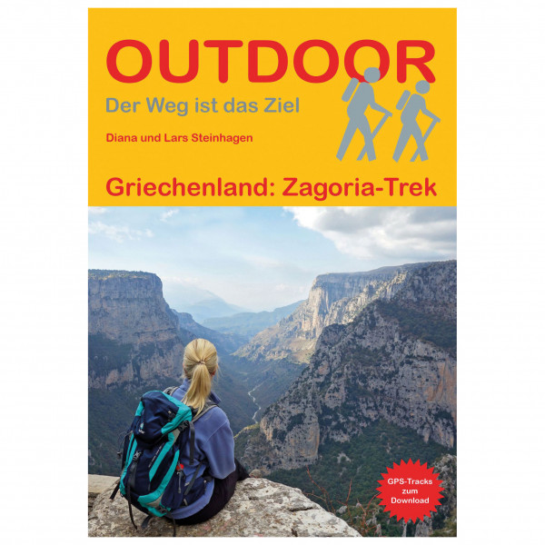Conrad Stein Verlag - Griechenland: Zagoria-Trek - Vaellusoppaat