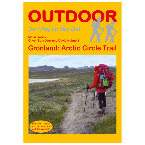 Conrad Stein Verlag - Grönland: Arctic Circle Trail - Vandringsguider