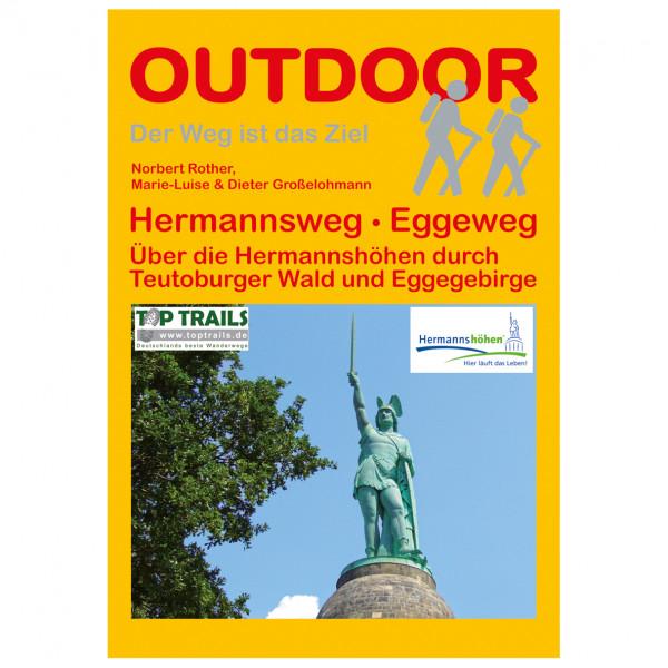 Conrad Stein Verlag - Hermannsweg - Eggeweg - Walking guide book
