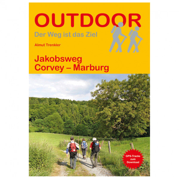 Conrad Stein Verlag - Jakobsweg Corvey - Marburg - Walking guide book