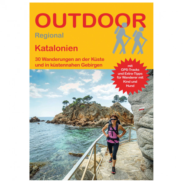 Conrad Stein Verlag - Katalonien - Walking guide book