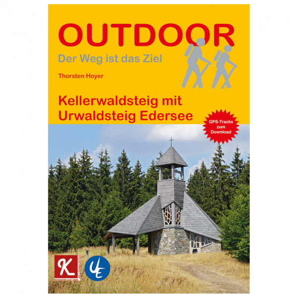 Conrad Stein Verlag - Kellerwaldsteig mit Urwaldsteig Edersee - Vandringsguider