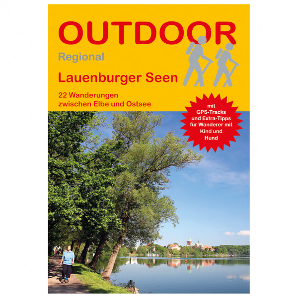 Conrad Stein Verlag - Lauenburger Seen - Walking guide book