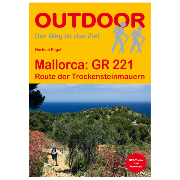 Conrad Stein Verlag - Mallorca GR 221 - Walking guide book