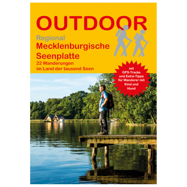 Conrad Stein Verlag - Mecklenburgische Seenplatte - Walking guide book