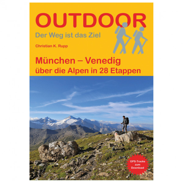 Conrad Stein Verlag - München – Venedig - Walking guide book