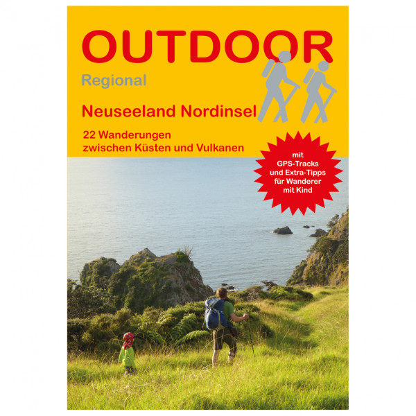 Conrad Stein Verlag - Neuseeland Nordinsel - Vandringsguider