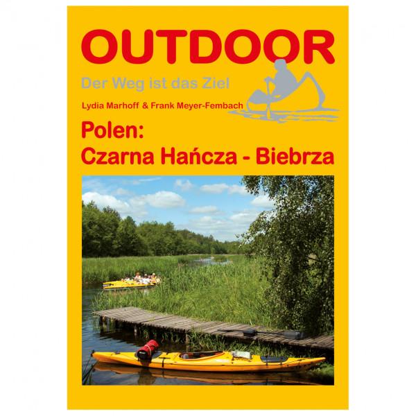 Polen: Czarna Hancza-Biebrza - Walking guide book