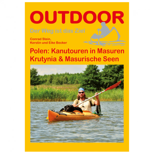 Conrad Stein Verlag - Polen: Kanutouren in Masuren - Vaellusoppaat