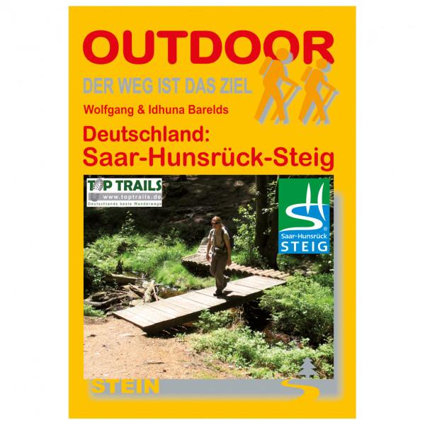 Conrad Stein Verlag - Saar-Hunsrück-Steig - Walking guide book
