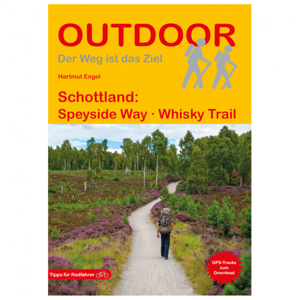 Conrad Stein Verlag - Schottland: Speyside Way Whisky Trail - Walking guide book