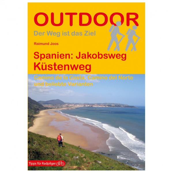 Conrad Stein Verlag - Spanien: Jakobsweg Küstenweg - Walking guide book