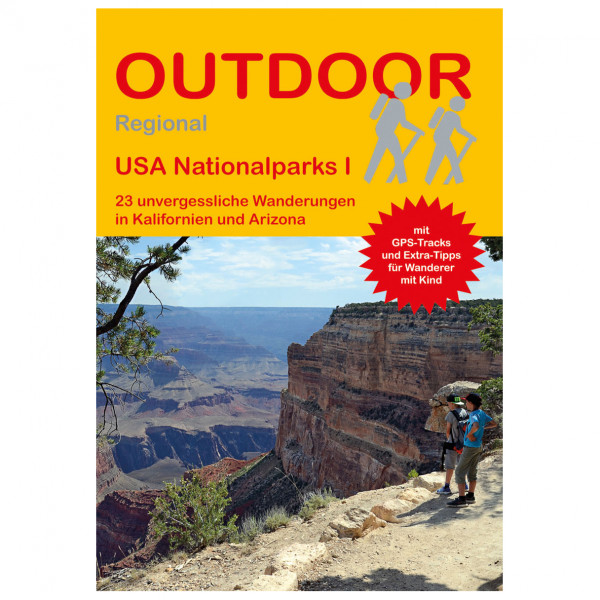 Conrad Stein Verlag - USA Nationalparks I - Walking guide book