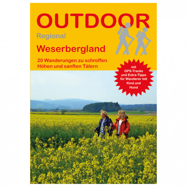 Conrad Stein Verlag - Weserbergland - Vaellusoppaat