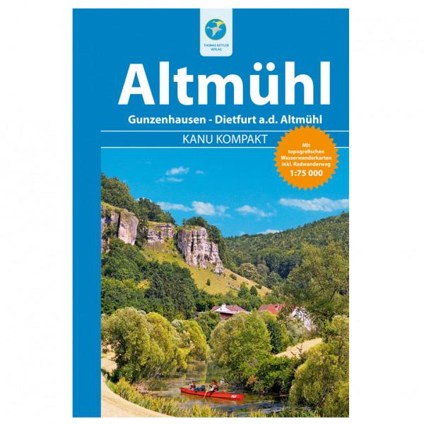 Thomas Kettler Verlag - Kanu Kompakt Altmühl - Vaellusoppaat