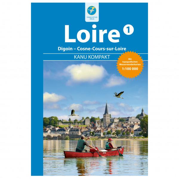 Thomas Kettler Verlag - Kanu Kompakt Loire 1 - Vandringsguider