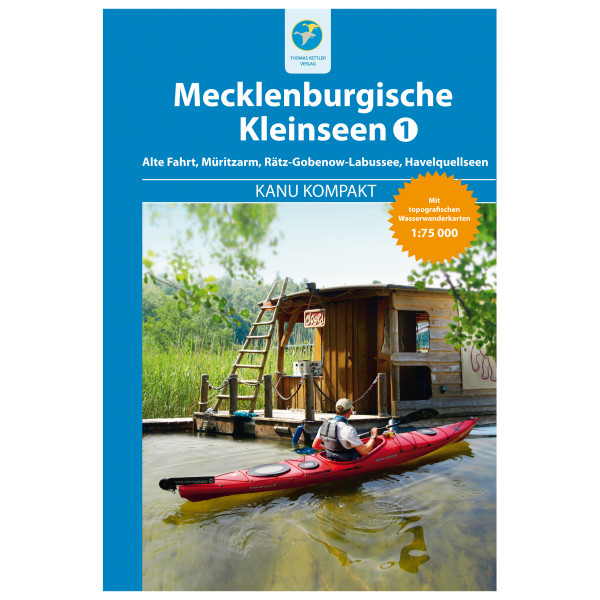 Thomas Kettler Verlag - Kanu Kompakt Mecklenburgische Kleinseen 1 - Vandreguides