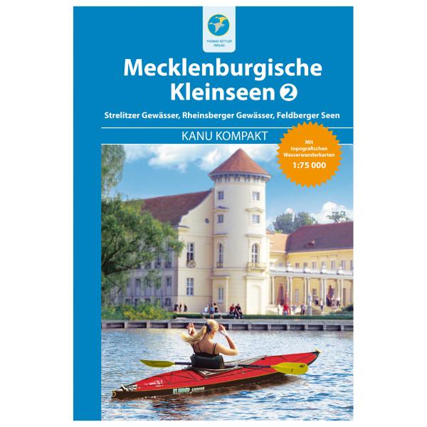 Thomas Kettler Verlag - Kanu Kompakt Mecklenburgische Kleinseen 2 - Wanderführer