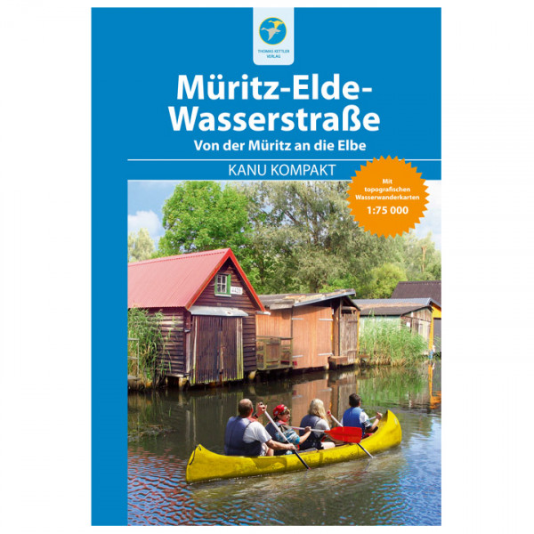 Thomas Kettler Verlag - Kanu Kompakt Müritz-Elde-Wasserstraße - Vaellusoppaat