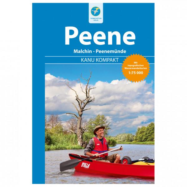 Thomas Kettler Verlag - Kanu Kompakt Peene - Vaellusoppaat