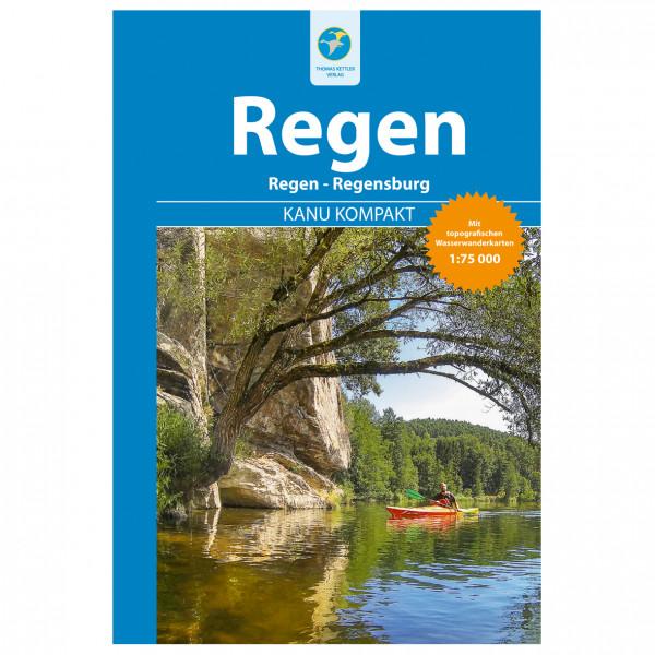 Thomas Kettler Verlag - Kanu Kompakt Regen - Vandringsguider