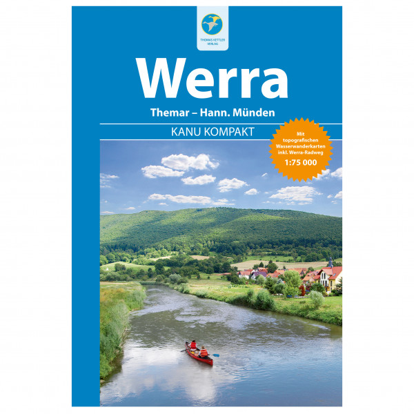 Thomas Kettler Verlag - Kanu Kompakt Werra - Wandelgidsen