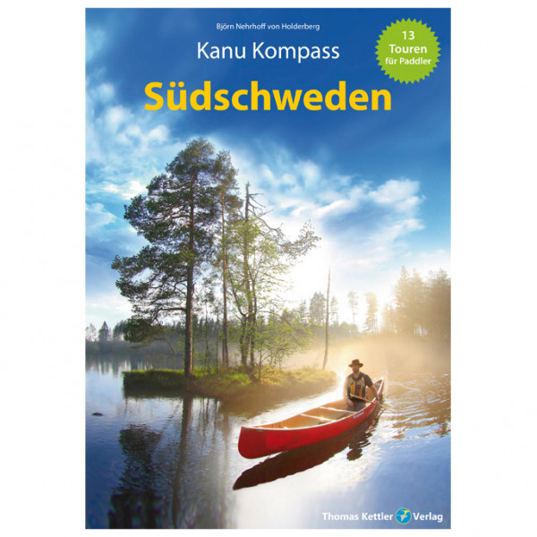 Thomas Kettler Verlag - Kanu Kompass Südschweden - Walking guide book