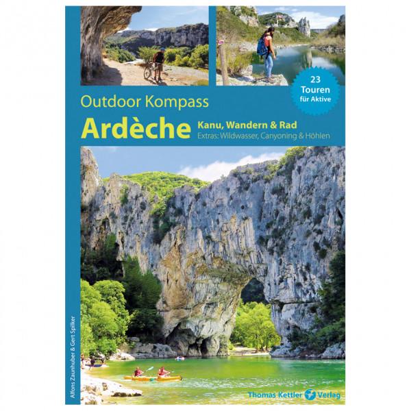 Thomas Kettler Verlag - Outdoor Kompass Ardèche - Walking guide book
